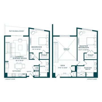 Apartment 520 floor plan