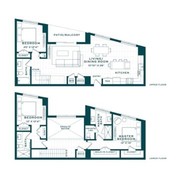 Apartment 110 floor plan