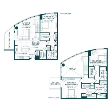 Apartment 140 floor plan