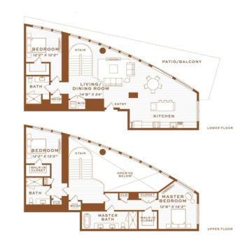 Apartment 4260 floor plan