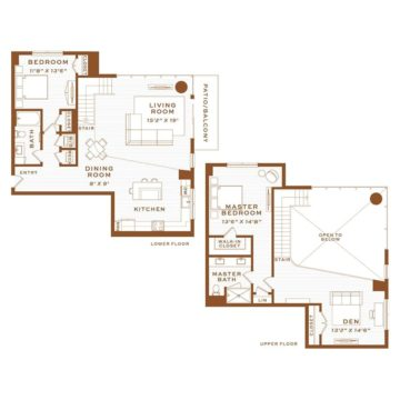 Apartment 4270 floor plan